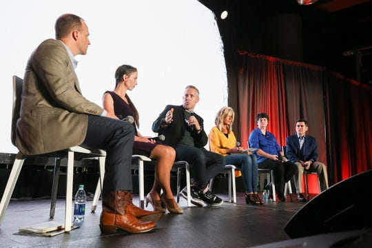 A panel discussion on sexual abuse was held at the annual convention of the Southern Baptist Convention in Birmingham, Alabama, on June 10, 2019.