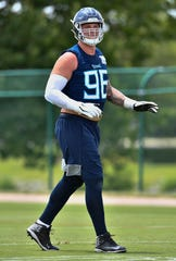 Titans defensive lineman Brent Urban is 6-foot-7.