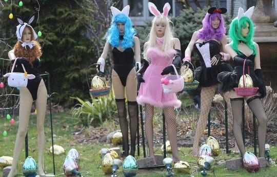Easter mannequins
