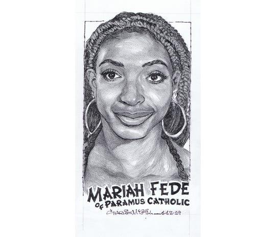 Mariah Fede, Paramus Catholic track & field