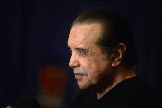 "New Jersey approves over $6 million in a tax credit program for four upcoming films, including one staring Chazz Palminteri, seen here at the Paper Mill Playhouse in Millburn in 2016 when Palminteri was putting on a production of ""A Bronx Tale."""