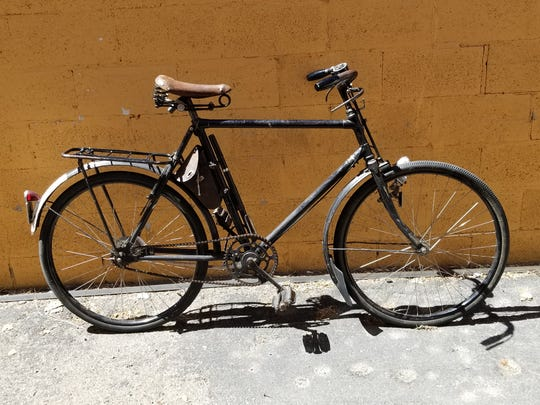 Vintage bicycles like this frequently show up at auction, but inspect before you bid.