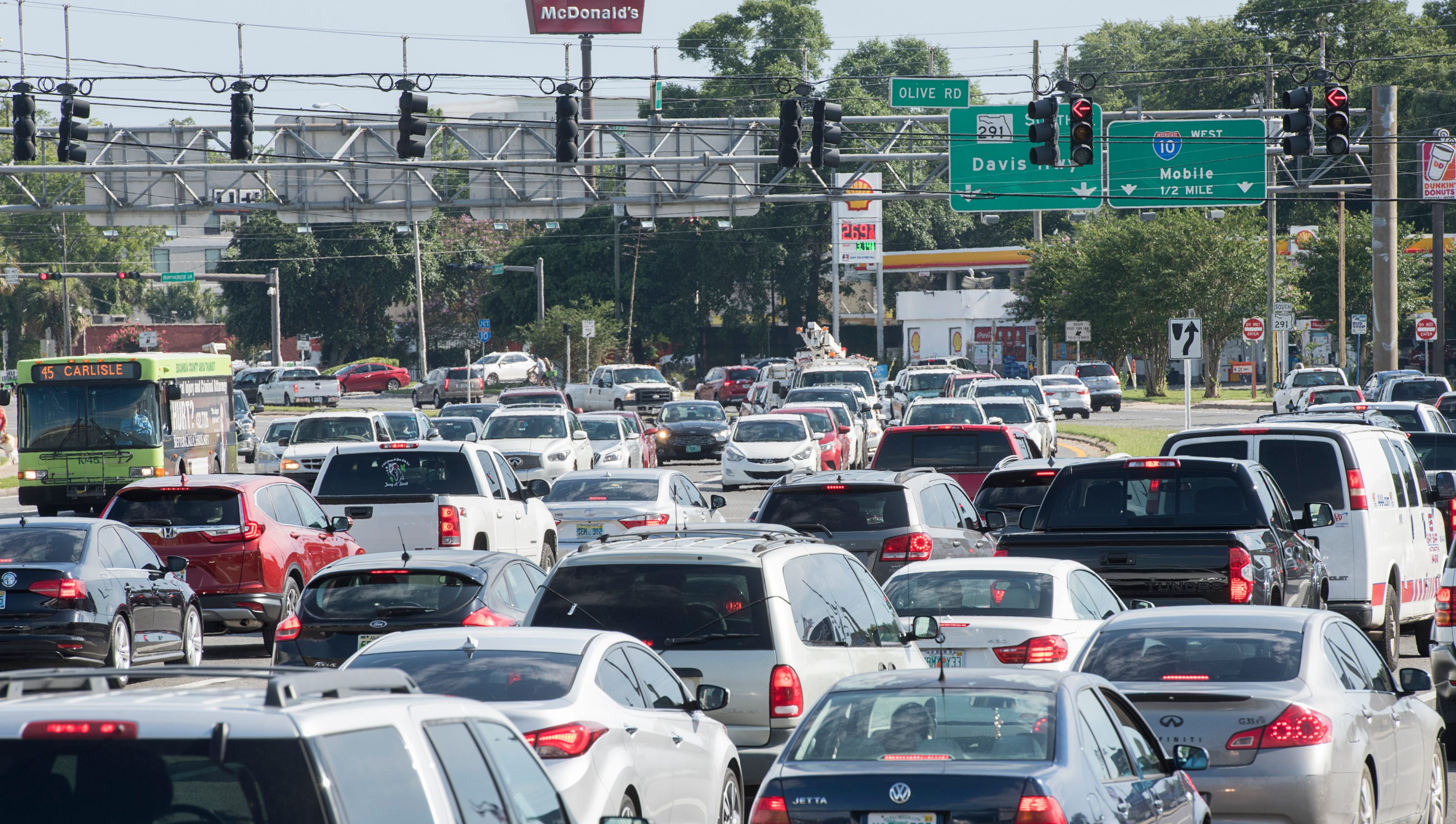 Smart traffic light' system plan in the works for Pensacola area roads