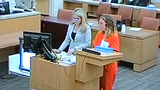 Brittany Zamora pleads guilty to sexual conduct with a minor, attempted molestation of a minor and public sexual indecency in Maricopa County Superior Court on June 10, 2019.