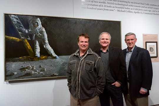 Mark Armstrong (left), Chris Calle and Tim Peterson at Western Spirit: Scottsdale's Museum of the West.