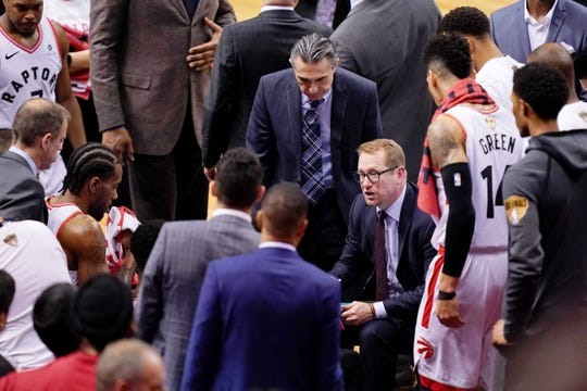 Toronto Raptors head coach Nick Nurse made an interesting timeout call late in Game 5 of the NBA finals against the Golden State Warriors.