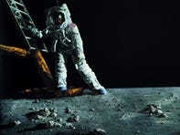 A NASA artist documented Apollo 11. Now, his work is on display in Scottsdale
