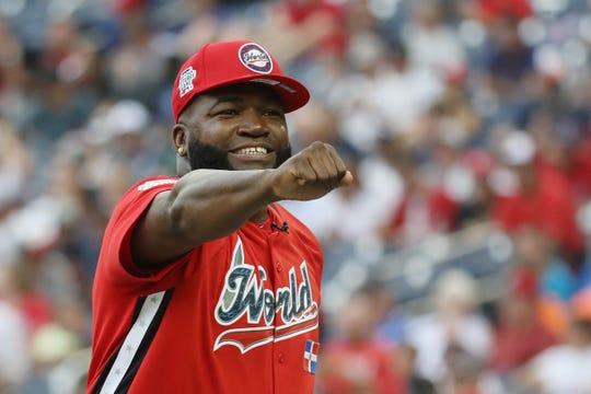 El pelotero dominicano David Ortiz es muy querido por la afición de Boston.