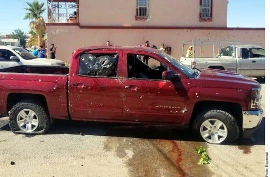 En el Municipio de Agua Prieta un comando armado asesinó a al menos cinco personas.