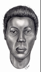 A skull reconstruction of a woman found dead in a dumpster in St. Clair Township in 2003. She has not been identified.