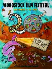 The 2019 Woodstock Film Festival poster.