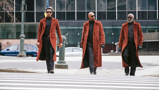 "From left, Jessie Usher, Samuel Jackson and Richard Roundtree star in ""Shaft.""  The movie opens Thursday at Regal West Manchester and Frank Theatres Queensgate Stadium 13."