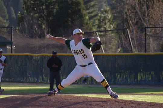 Shane Kelso pitched for the Feather River College baseball team from 2016 to 2018.