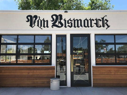 Von Bismarck restaurant occupies a stylishly renovated transmission garage on Wells Avenue in Reno. The restaurant, from the owner of Chapel Tavern and Shawarma, offers German beer and wine and German-inspired dishes.