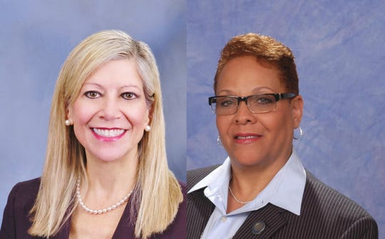Assemblywoman Lisa Krasner and Senator Pat Spearman