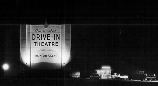 The Rochester Drive-In closed in 1982 and used to show X-rated movies.