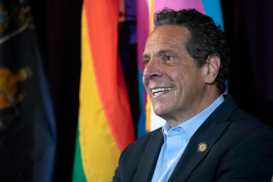 Gov. Andrew Cuomo is pressuring the Democratic-controlled state Legislature to pass a series of measures before the session ends next week.