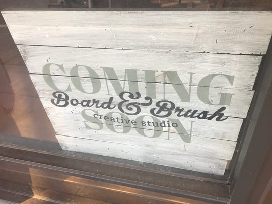 Mark and Cristina Souder will open a Board & Brush in downtown Redding next to the Post Office Saloon.