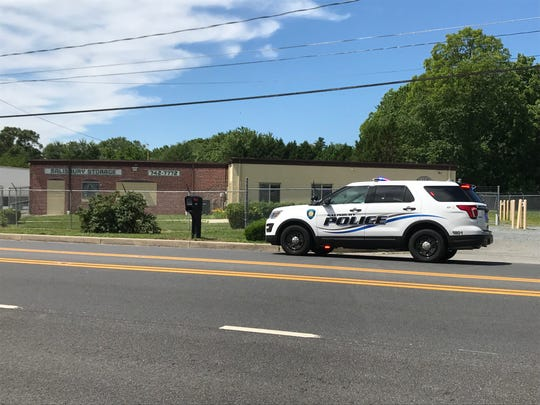 Salisbury police were on scene of an incident on Snow Hill Road on Tuesday, June 11, 2019.