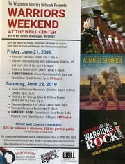 Warrior Weekend at the Weill takes place June 21 and 22. Proceeds from the event go towards organizations that support veterans.