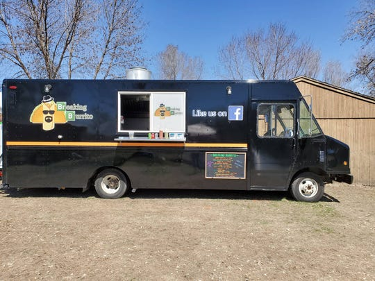 The Breaking Burrito food truck