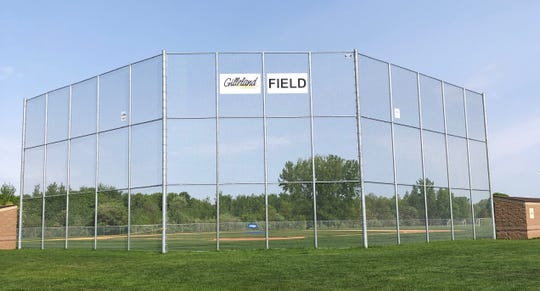 Gilleland Chevrolet Field recently saw its first game action as the first new teen field at Pinecone Central Park.