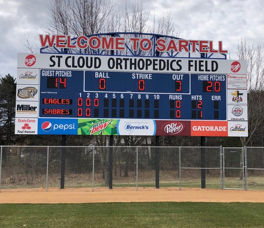 St. Cloud Orthopedics Field was recently completed through the work of Sartell Baseball along with the MN Twins Community Fund. The $1.3 million project was made possible with over half of the money privately raised with the city of Sartell.