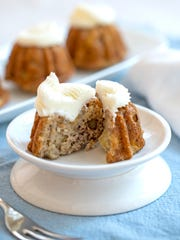 Use ripe bananas for these cakes to achieve the depth of flavor and moistness.