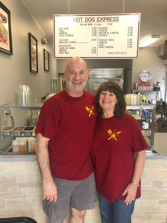 Bill and Wendy Einhorn are the owners the new Hot Dog Express in Pearl River.