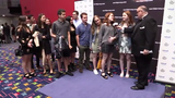Pre-show interviews at the 21st annual Metropolitan High School Theater Awards at Purchase PAC June 10, 2019