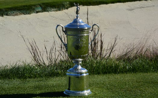 Geoff Ogilvy left Winged Foot with the U.S. Open Championship Trophy in 2006, defeating Phil Mickelson, Jim Furyk and Colin Montgomerie by a stroke.