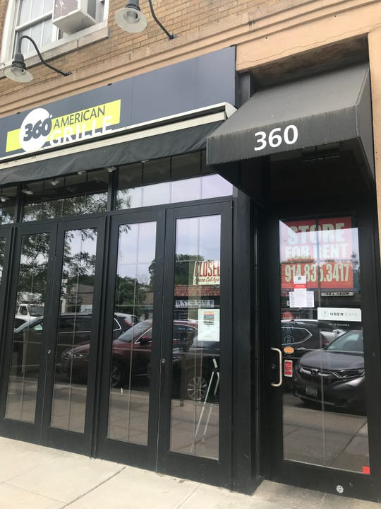 360 American Grille has closed on Mamaroneck Avenue in Mamaroneck but will reopen as a take-out eatery somewhere closeby.