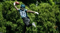 Eagles coach Doug Pederson said these two receivers, especially, can challenge for roster spots in training camp: