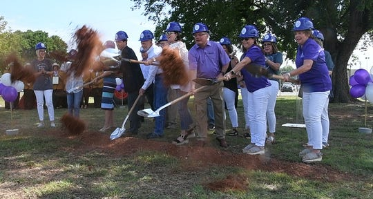 Hospice of Wichita Falls broke ground Tuesday morning for a new, $15 million, in-patient center which will double the number of beds available for end-of-life care.