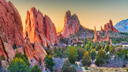 Garden of the gods is a public park in Colorado Springs, Colorado, home to one of the hottest ZIP codes in the country for housing, according to a ranking by Realtor.com.