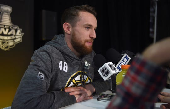 Boston Bruins defenseman Matt Grzelcyk grew up near TD Garden.