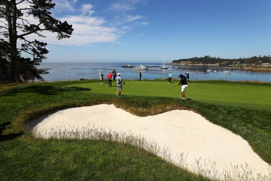 The fifth hole at Pebble Beach