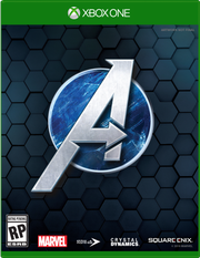 Box art for the video game 'Marvel's Avengers'
