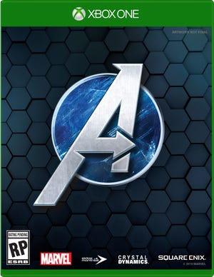 Box art for the video game 'Marvel's Avengers'