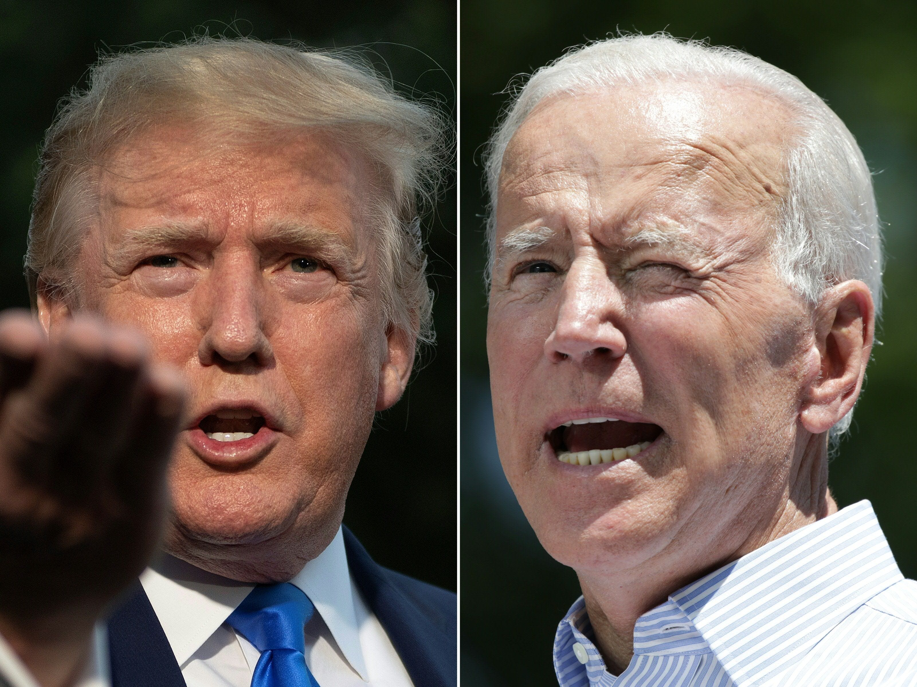 Poll: Biden leads Trump by 13 percentage points nationally in head-to-head matchup