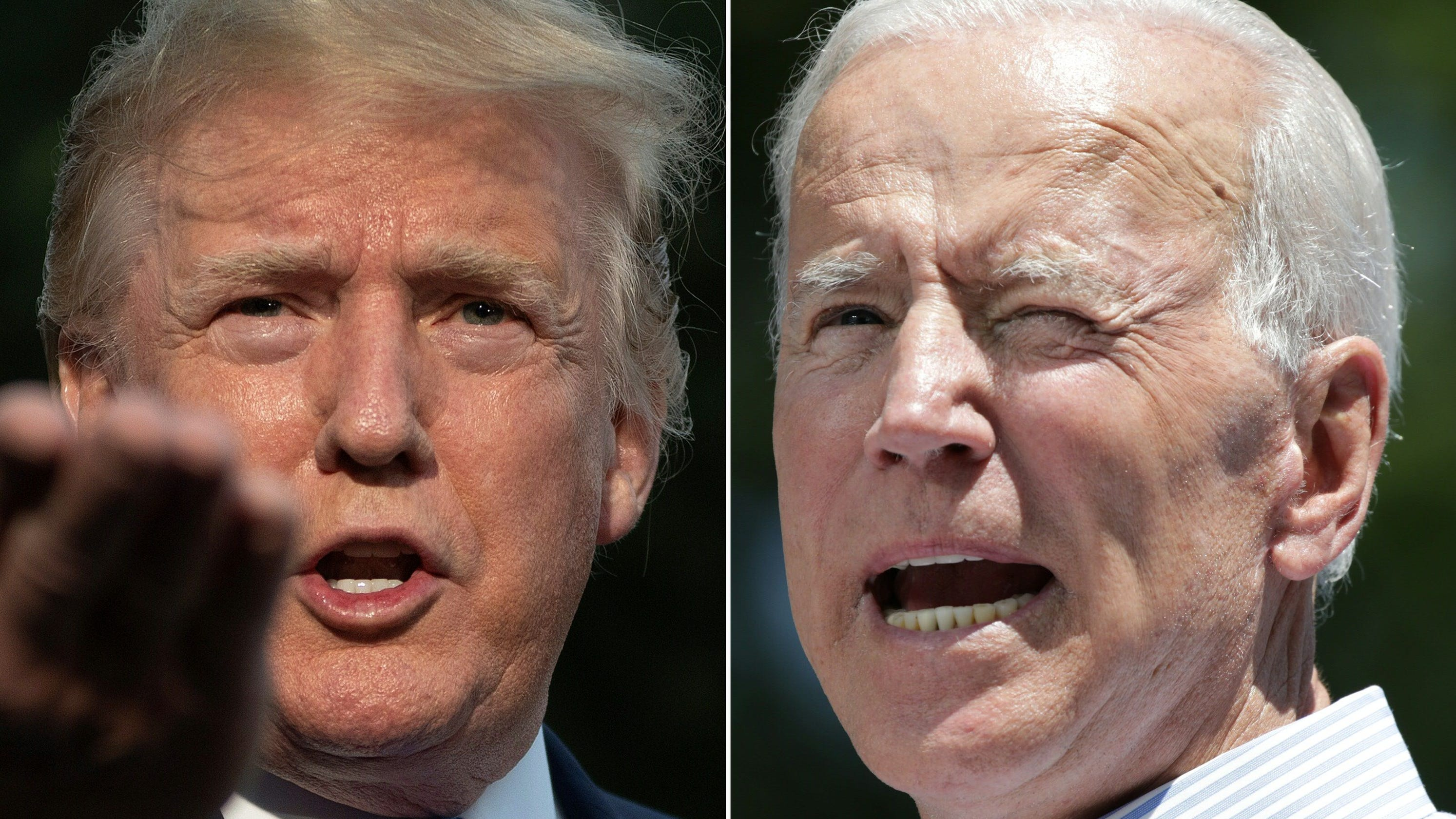 Poll: Biden leads Trump by 13 percentage points nationally in head-to-head matchup - USA TODAY