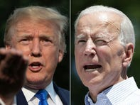 'Existential threat to America': Joe Biden, Donald Trump trade insults in Iowa face off