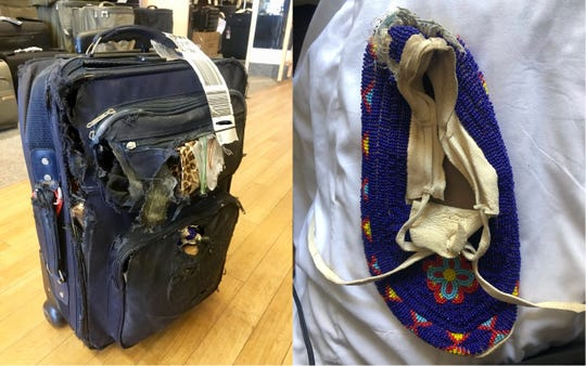 Delta customer 'cried for days' after 'priceless family heirlooms' were destroyed in transit