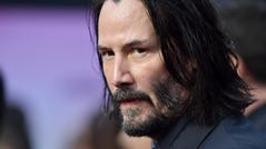 """Keanu Reeves attends the special screening of Lionsgate's """"John Wick: Chapter 3 - Parabellum"""" at TCL Chinese Theatre on May 15, 2019 in Hollywood, California. In the summer of 2019, Reeves will be in both 'Toy Story 4' and 'Always Be My Maybe.'"""