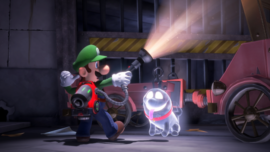 Mario's brother Luigi is the ghostbusting star in 'Luigi's Mansion 3,' a new video game coming to Nintendo Switch later this year.