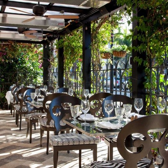 Continental Naples in Florida made the list for the 100 best al fresco restaurants in America.