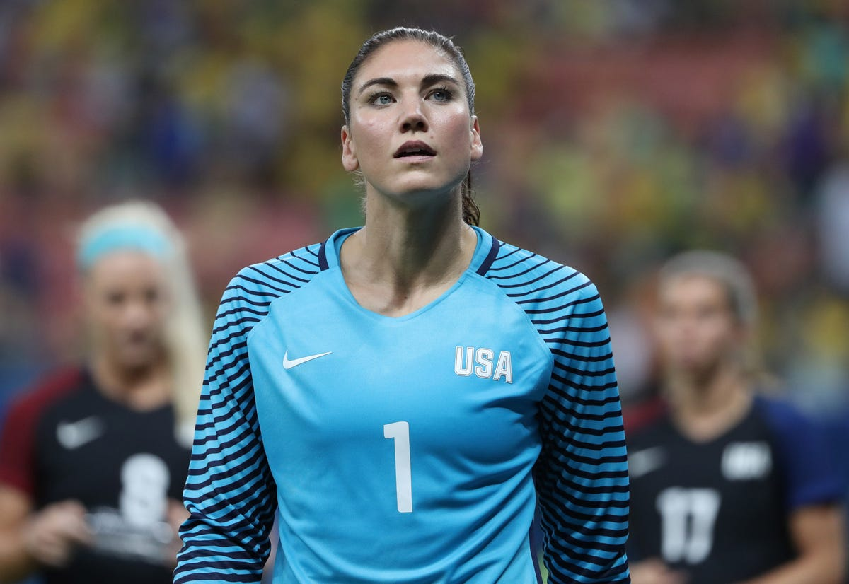 new style f1161 80b2a Hope Solo, ex-USWNT goalie, reveals details of miscarriage ...