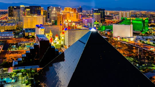 Las Vegas, known for its extravagant spectacles of bright lights and screens, shockingly has the same carbon footprint as the bitcoin industry, research says.