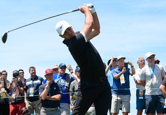Brooks Koepka has won each of the previous two U.S. Open Championships (Erin Hills, Wis. in 2017 and Shinnecock Hills, N.Y. in 2018) and comes in tied for the best odds to win at Pebble Beach.