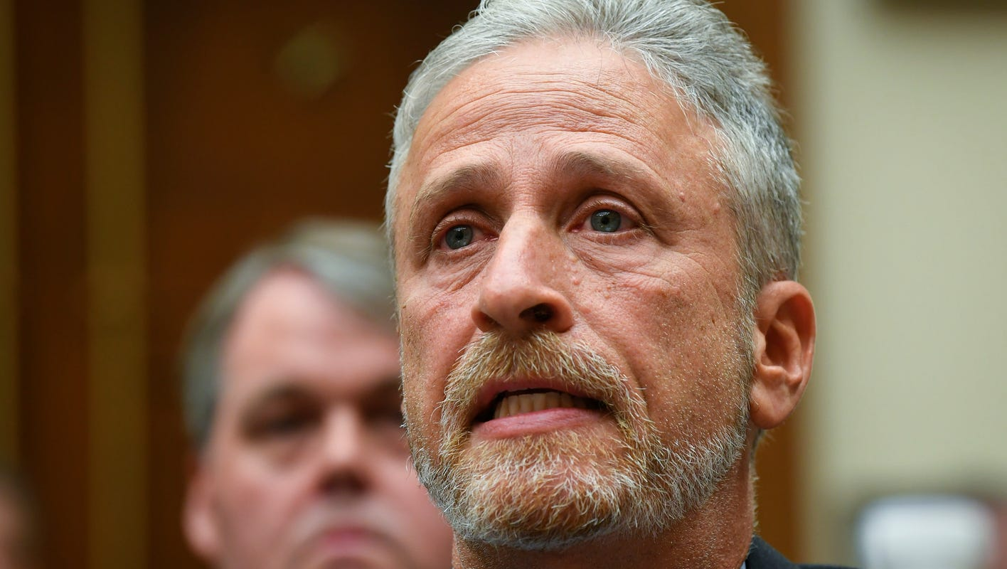 'It's absolutely outrageous': Jon Stewart slams Rand Paul for delaying 9/11 first responder bill